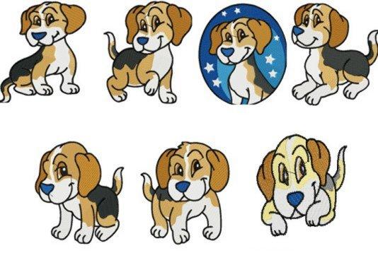 Beagle clipart cartoon. Beagles clipground sse adorable