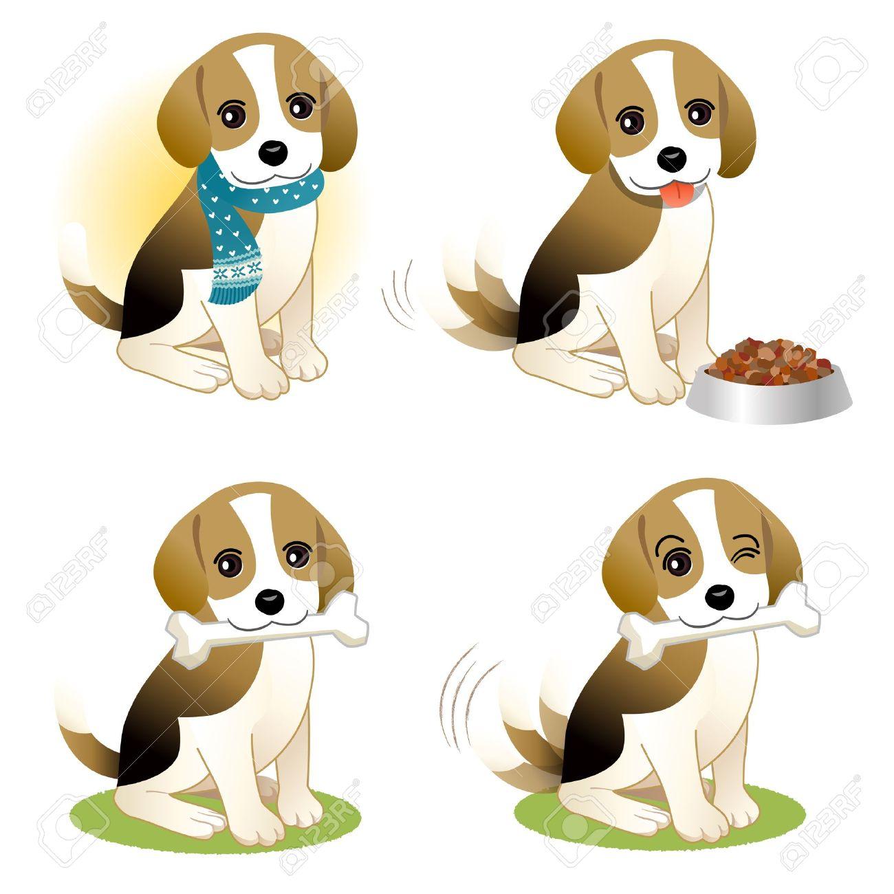 Perro pencil and in. Beagle clipart cartoon