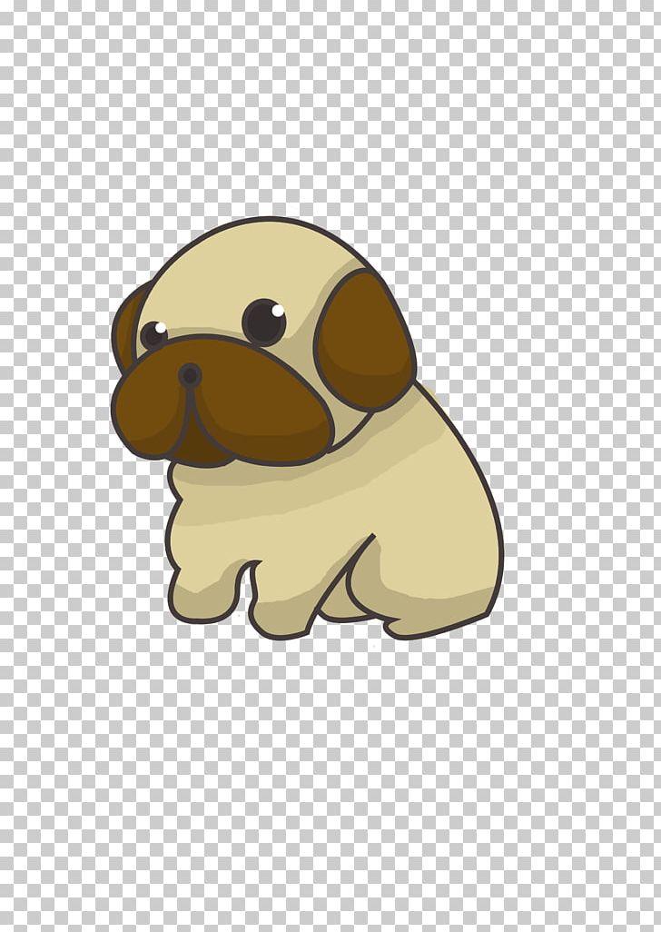 Pug puppy drawing png. Beagle clipart chibi