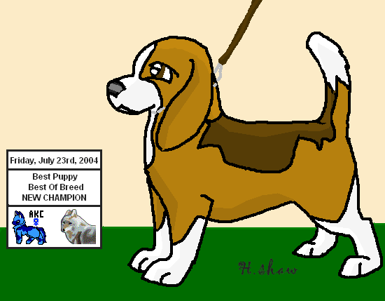 Sekenda keket by akchibi. Beagle clipart chibi