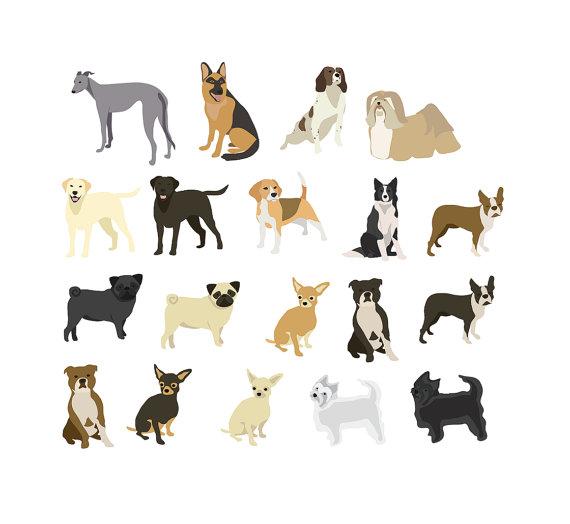 Beagle clipart chihuahua. Dogs clip art pug