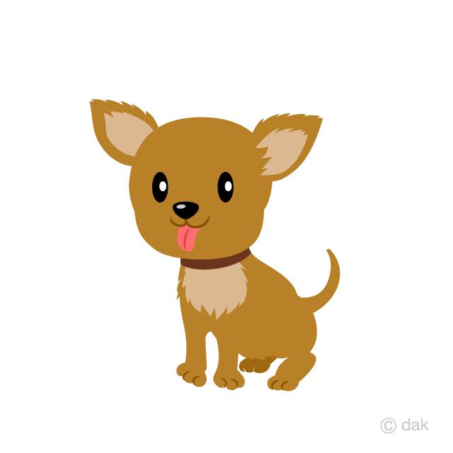 Beagle clipart chiwawa. Cute brown chihuahua dog