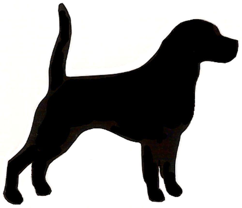 High quality stencil mil. Beagle clipart chiweenie