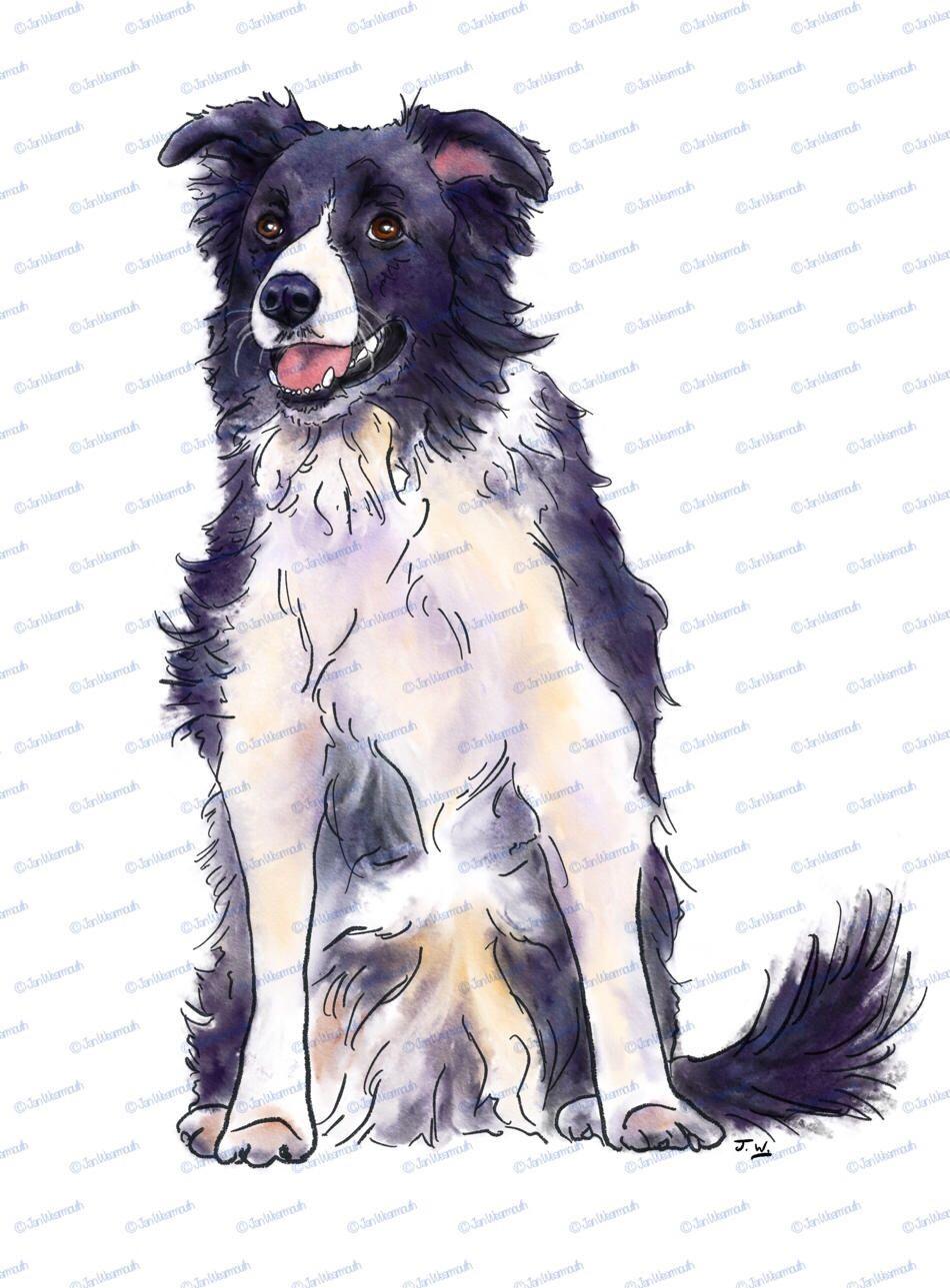Beagle clipart collie puppy. Dog border clip art