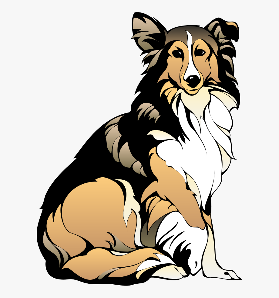 Beagle clipart collie puppy. Top dog clip art