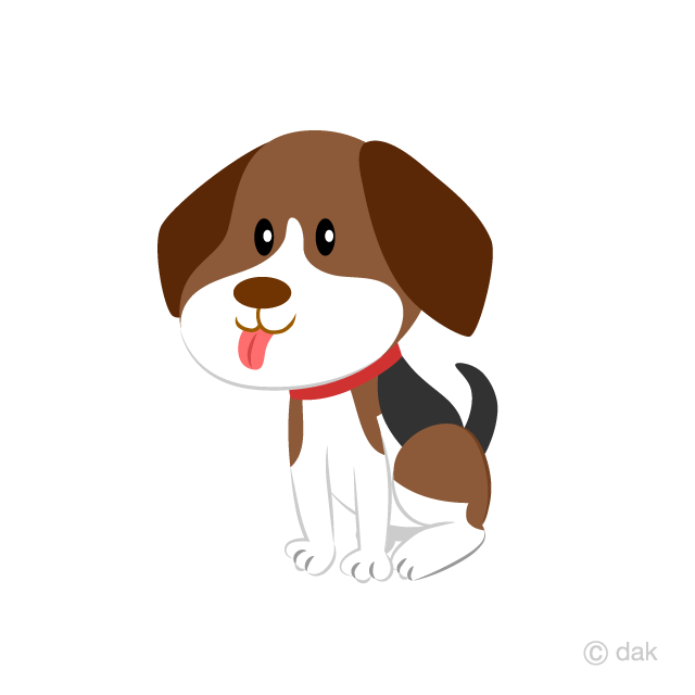 Beagle clipart cute. Dog free picture illustoon