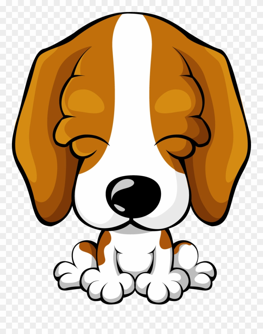 Pup png dog cartoon. Beagle clipart cute