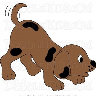 Tag for cute dog. Beagle clipart cutedog
