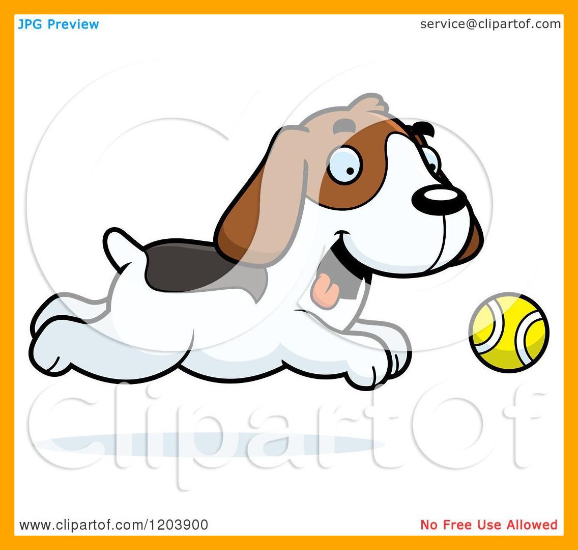 Fascinating cartoon of a. Beagle clipart cutedog