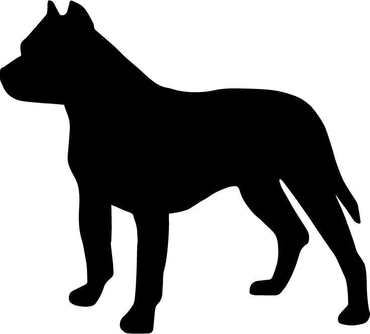 Beagle clipart dog shadow. Pitbull png