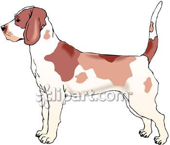 Pinart christmas of a. Beagle clipart dog shadow