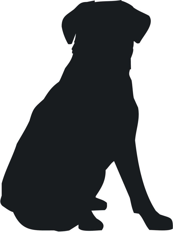 Beagle clipart dog shadow. Silhouette at getdrawings com