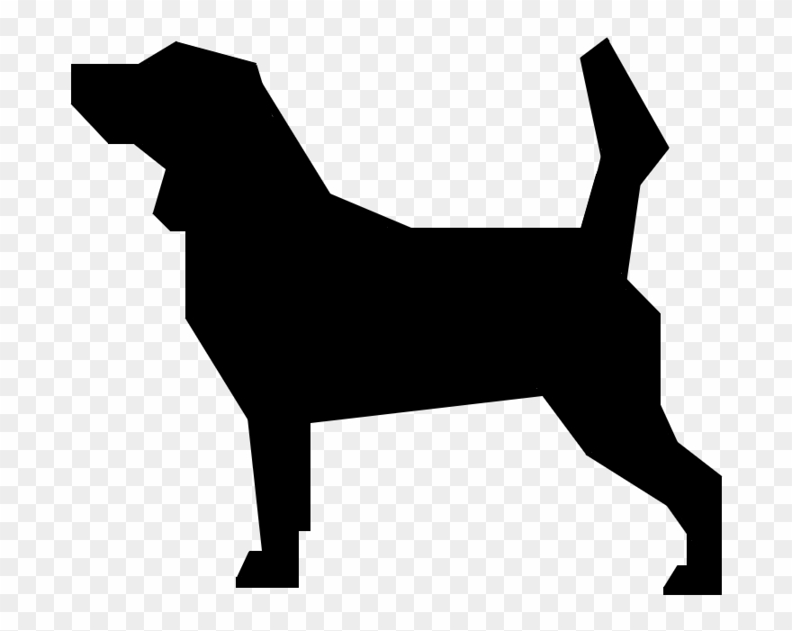Svg silhouette dog pinclipart. Beagle clipart dogl