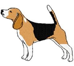 Dog mix . Beagle clipart dogl