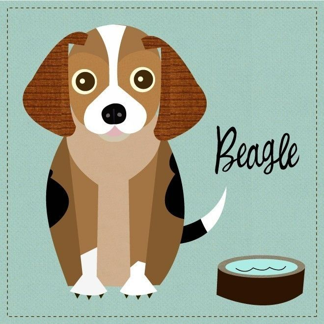 Beagle clipart dry dog.  best basset images