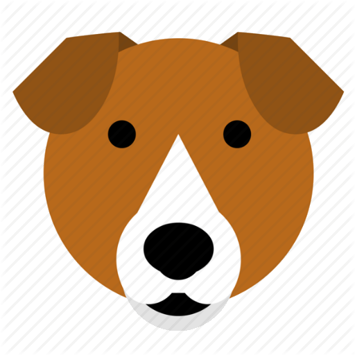 Beagle clipart face. Supericon animals by james