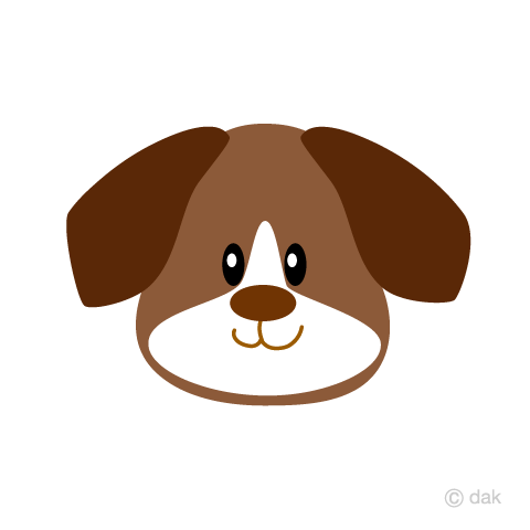 Free dog s image. Beagle clipart face