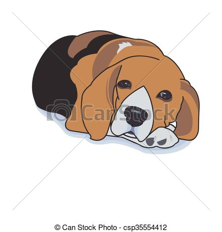 Dog shadow free collection. Beagle clipart face
