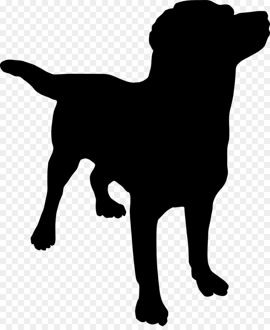 Silhouette clip art animal. Beagle clipart happy puppy