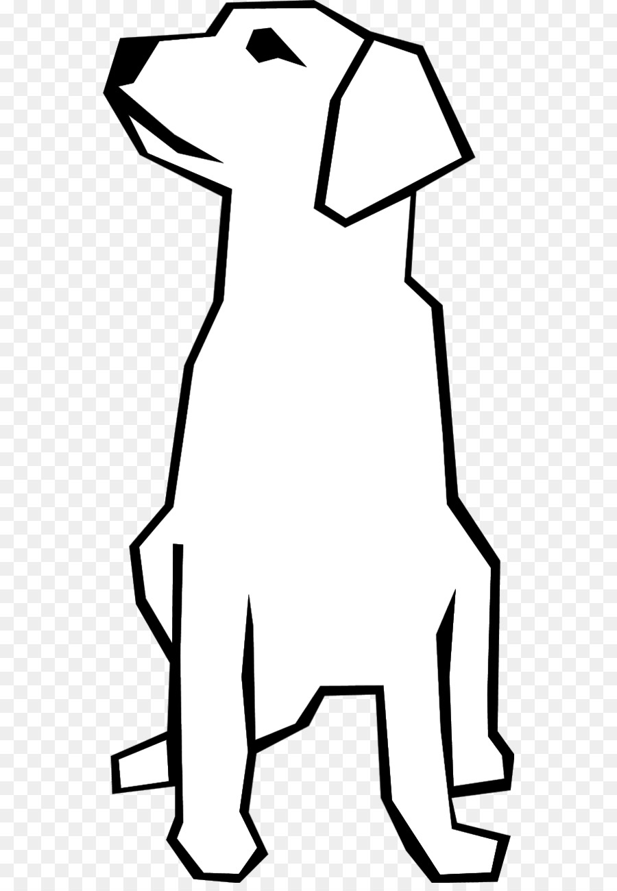 Drawing pet line art. Beagle clipart happy puppy