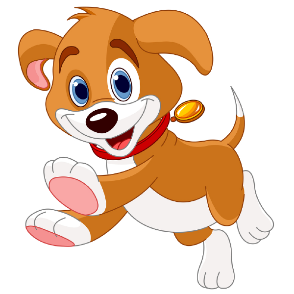 Puppy clip art and. Pet clipart happy pet