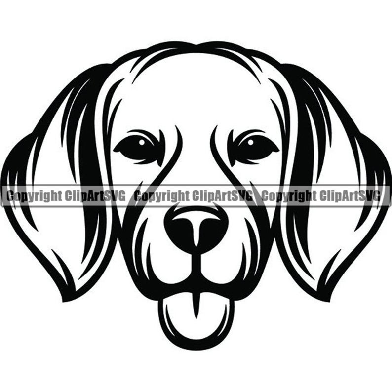 Dog smiling paws pedigree. Beagle clipart happy puppy