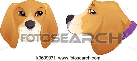 Beagle clipart head. Free on dumielauxepices net