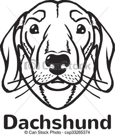 Silhouette clip art at. Beagle clipart head