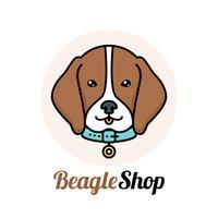 Free vector art downloads. Beagle clipart head