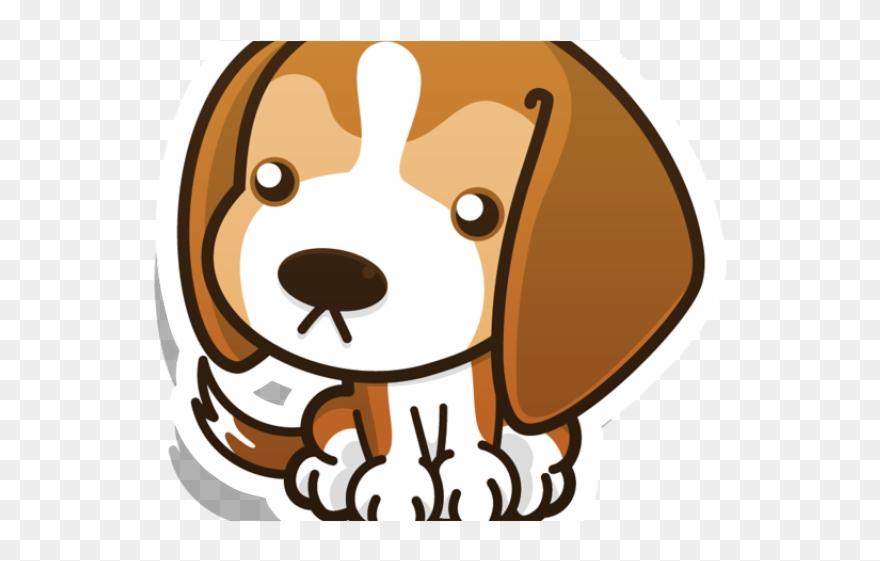 Beagle clipart kawaii. Chibi funny puppies png