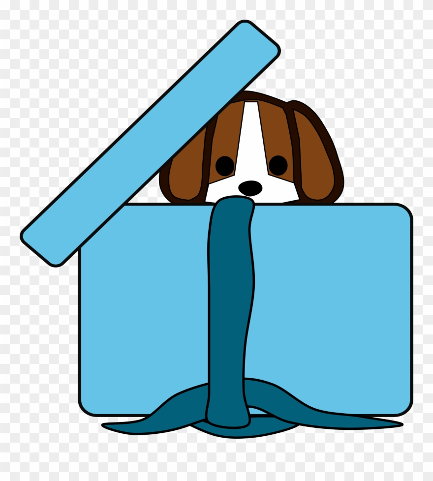 Download puppy in a. Beagle clipart medium
