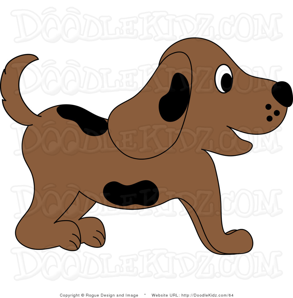 Happy panda free images. Beagle clipart playful puppy
