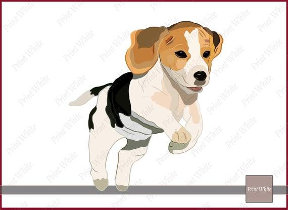 Clip art sublimation design. Beagle clipart puppyclip