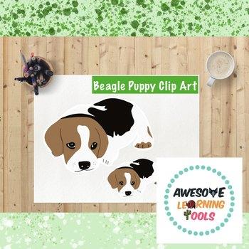 Puppy clip art . Beagle clipart puupy
