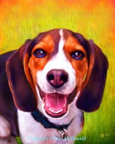 Beagle clipart realistic.  best images in