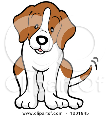 Cartoon . Beagle clipart realistic