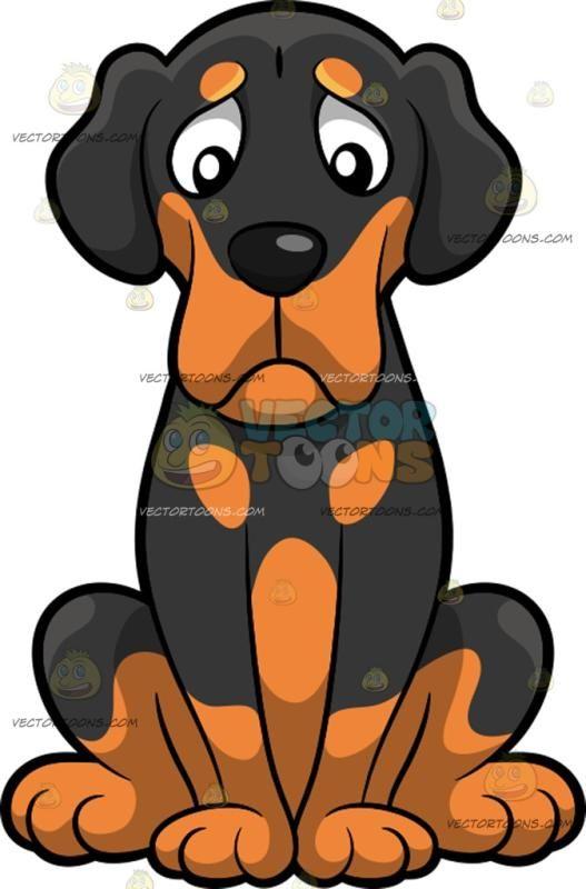 Pin on . Beagle clipart sad dog