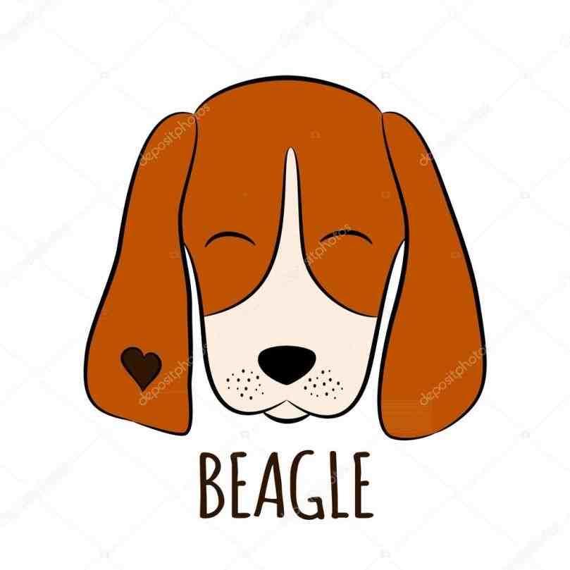 Easy drawing artninja how. Beagle clipart sad dog