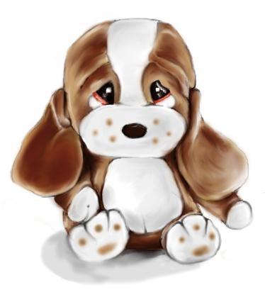 Beagle clipart sad dog.  best sam and