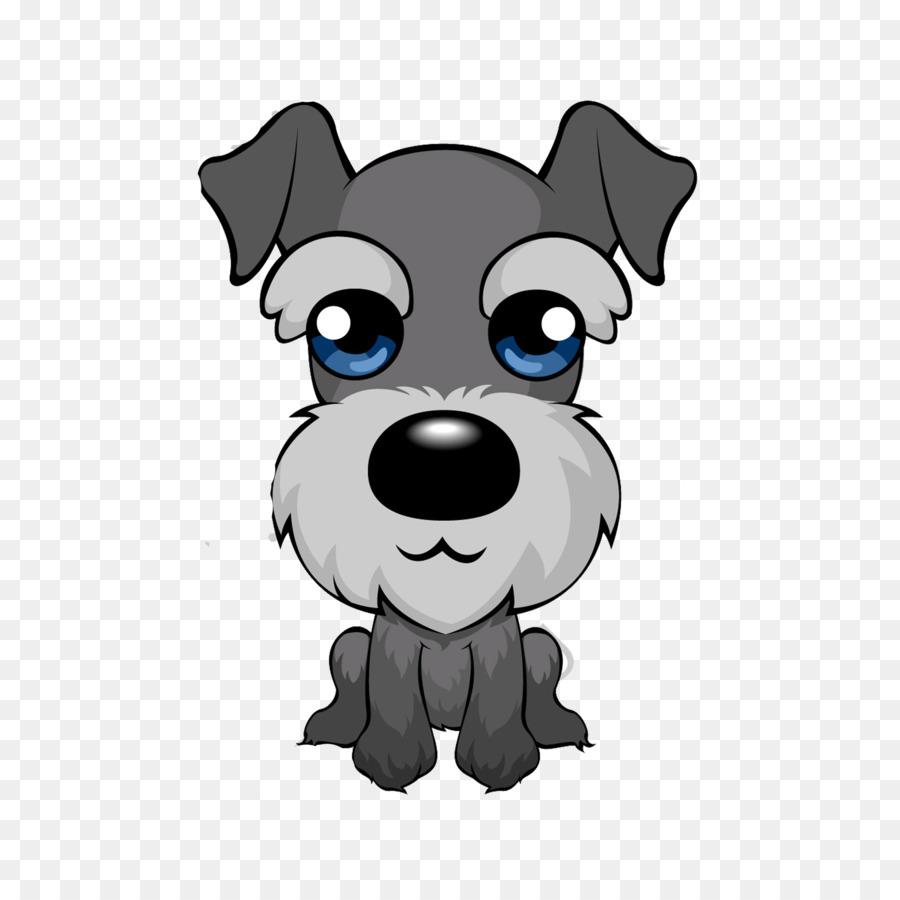 Beagle clipart schnauzer. Miniature puppy cartoon clip