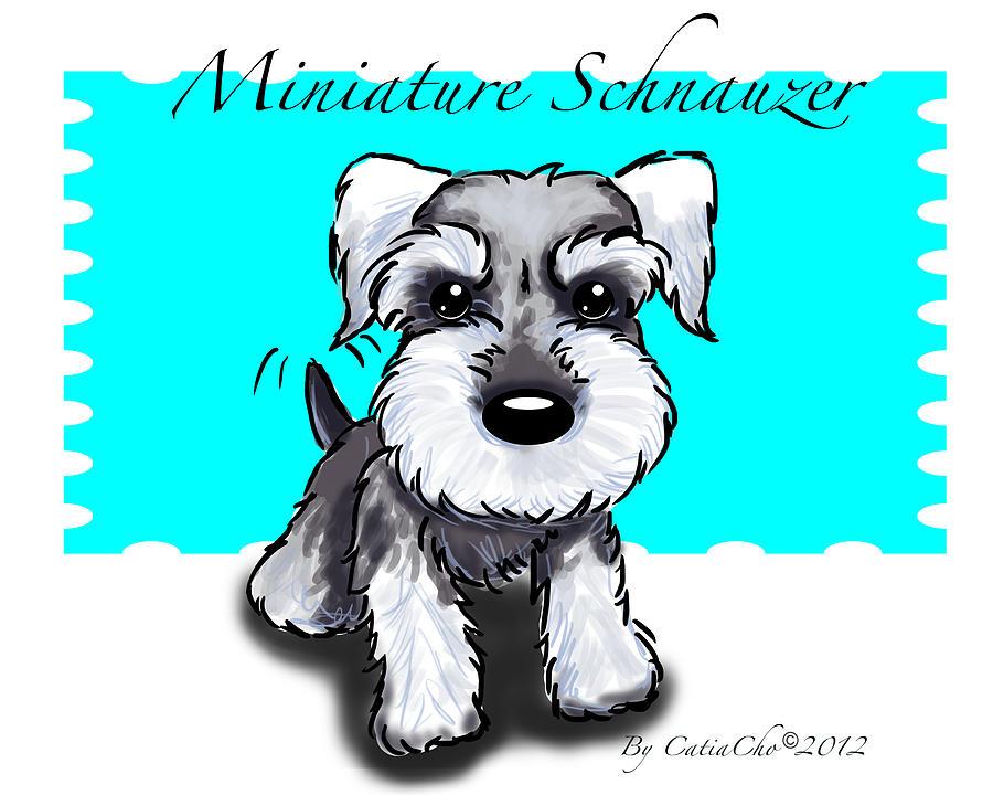 Miniature drawing at getdrawings. Beagle clipart schnauzer