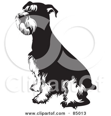 Beagle clipart schnauzer. Royalty free rf of