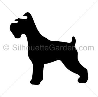 Silhouette clip art download. Beagle clipart schnauzer
