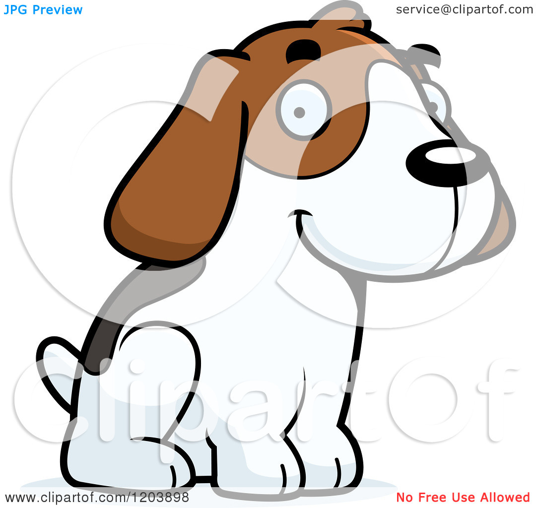 Beagle clipart service dog. Free download best