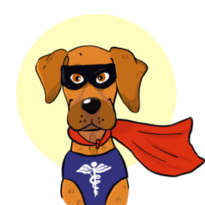 Beagle clipart service dog. Don t buy into