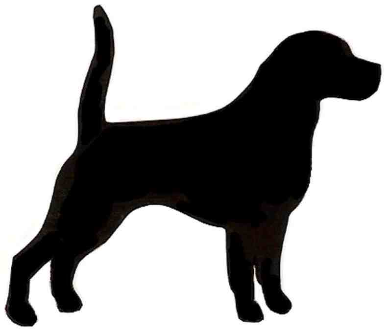 Head at getdrawings com. Beagle clipart silhouette