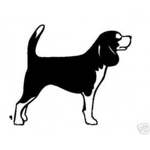 Beagle clipart silhouette. Pinterest