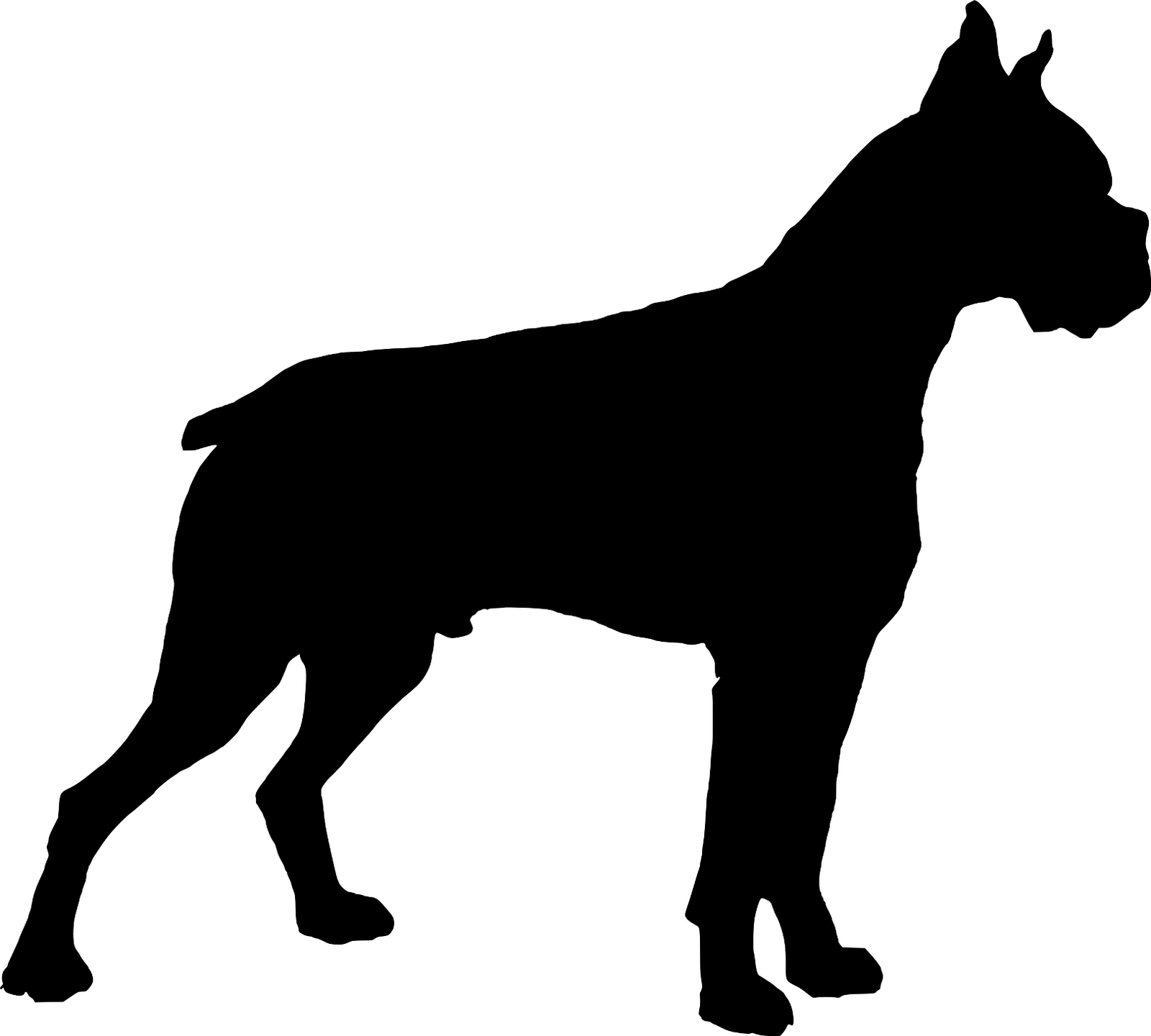 Dog at getdrawings com. Beagle clipart silhouette