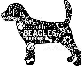 Beagle clipart svg. Download for free png