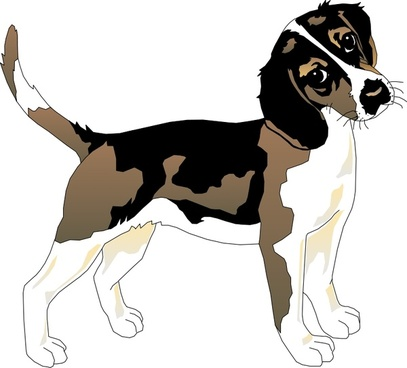 Pup free vector download. Beagle clipart svg